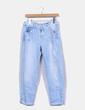Jeans denim recto azul claro Zara