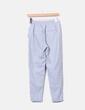 Pantalón jogging gris Bershka