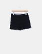 Short negro crochet Zara