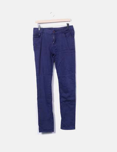 Jeans denim azul marino NoName