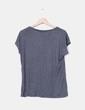 Camiseta combinada gris Mango