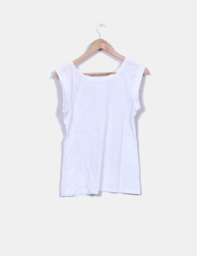 Camiseta sin mangas print corazon