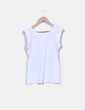 Camiseta sin mangas print corazón Mala Mujer