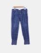 Jeans oscuro con goma inferior NoName
