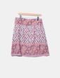 Falda de tela fluida estampado combinado Amichi