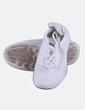 Sneaker blanca con cordones Sports