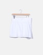 Falda blanca con bordado Fórmula Joven