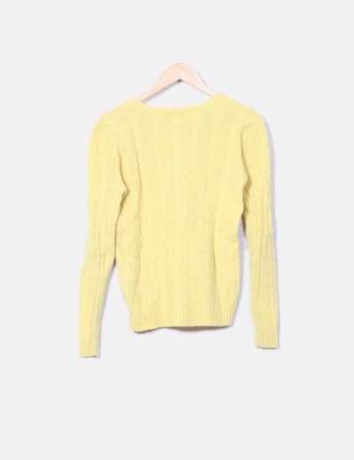 Ralph Lauren Pull jaune huit (réduction 79%) - Micolet a4020142f1f