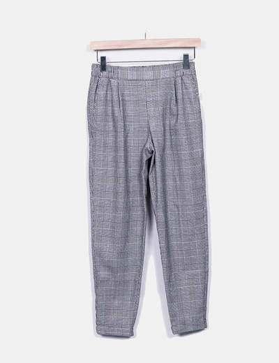 Pantalon multi-couleurs imprimé deux Bershka