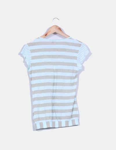 Camiseta de rayas con brillos