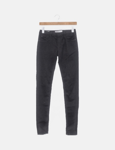 Jegging denim negro