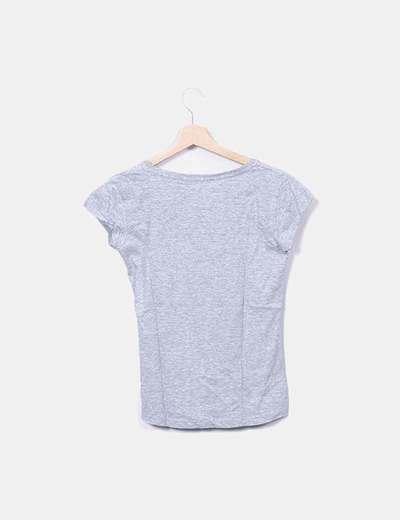 Camiseta gris print dog