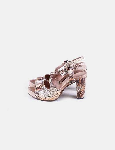 Sandálias de tacão Plumers menorca
