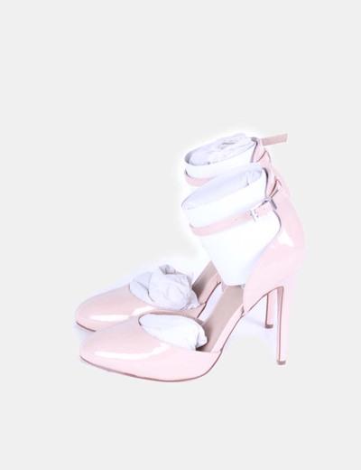 Zapatos charol nude Asos