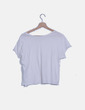 Camiseta blanca lisa Zara