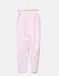 Pantalón rosa pantalón recto Uterqüe