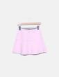 Minifalda rosa volantes Zara