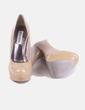 Zapato de tacón beige Steve Madden