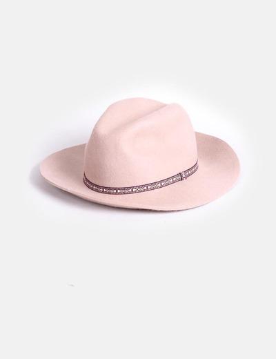 Sombrero borsalino camel Primark