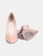 Zapatos salones charol nude Jimmy Choo