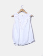 Camisa blanca volantes VILA