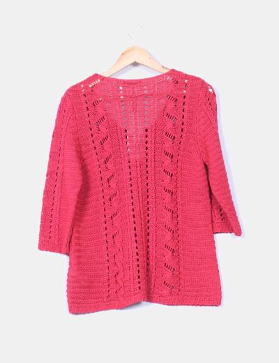 Rojo Chaqueta descuento Micolet Crochet 86 Roma Punt t6wavq1Wxn