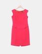 Vestido midi rojo Antea