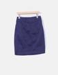 Falda midi azul marino Bimba&Lola
