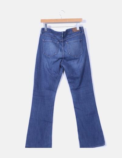 Jeans denim bootcut regular waist