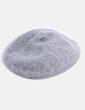 Boina de lana gris Rita Ros