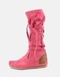 Bota rosa con tachas NoName