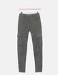 Jeans cargo verde Pull&Bear