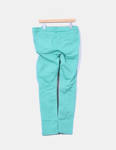 Pantalon verde premama