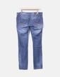 Jeans denim efecto desgastado Stradivarius