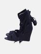 Sandalias lace up negras Adidas
