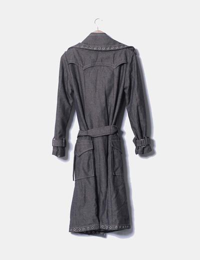 Abrigo espiga con tachas