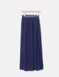 Jupe bleu marine maxi Zara