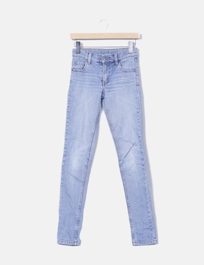 Jeans denim azul medio Cheap Monday