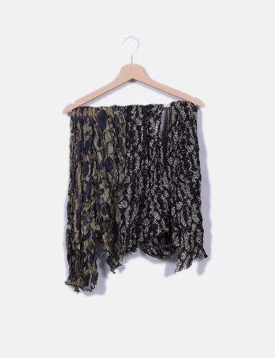 Ensemble de foulards tous de soie Tous