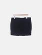 Falda mini denim azul marino Lefties