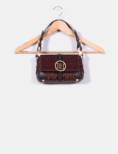 """Mini bolso marrón con asa"""" Pedro del Hierro """" Pedro del Hierro"""
