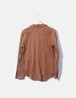 Camisa antelina marrón Stradivarius