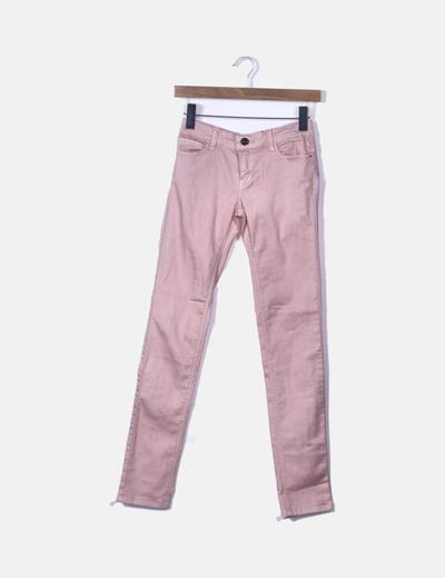 Pantalón rosa de loneta