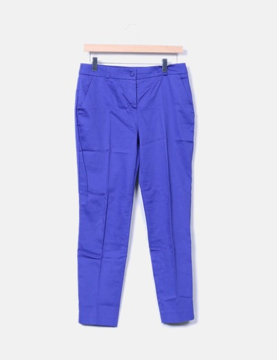 Pantalon bleu Naf Naf