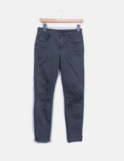 Pantalon gris ajusté Hakei