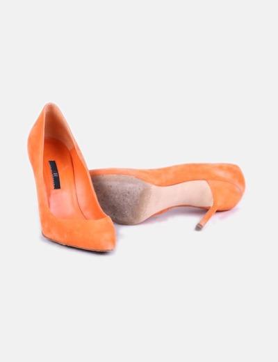 Naranja Zapato Salón Antedescuento Carolina Herrera 78Micolet De dBeCxor
