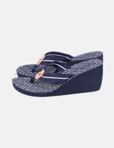 Sandálias de tacão Tommy Hilfiger