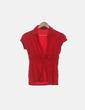 Camisa roja de manga corta Lefties