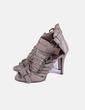 Zapatos hebillas taupé Zara