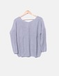 Pull gris Topshop